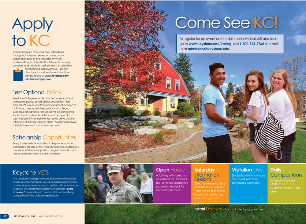 Keystone College Viewbook