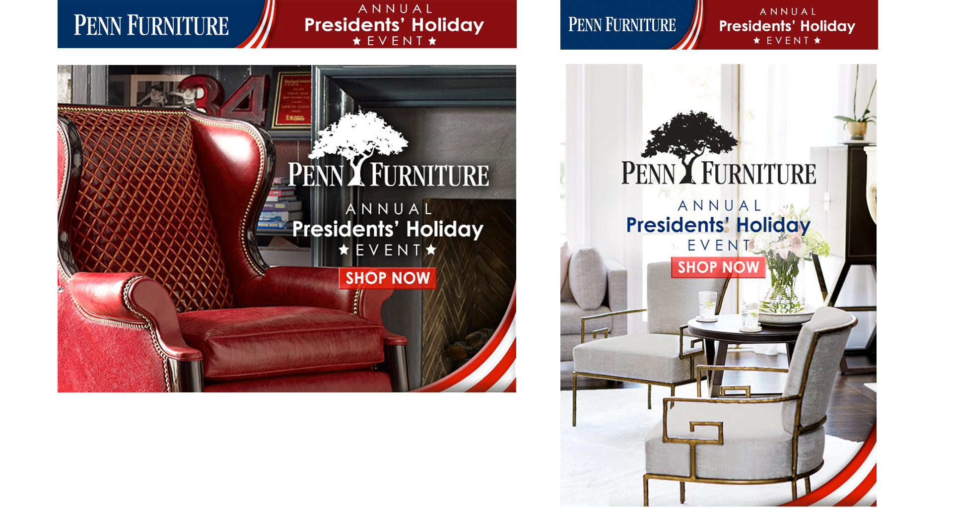 Penn Furniture Presidents' Holiday Event