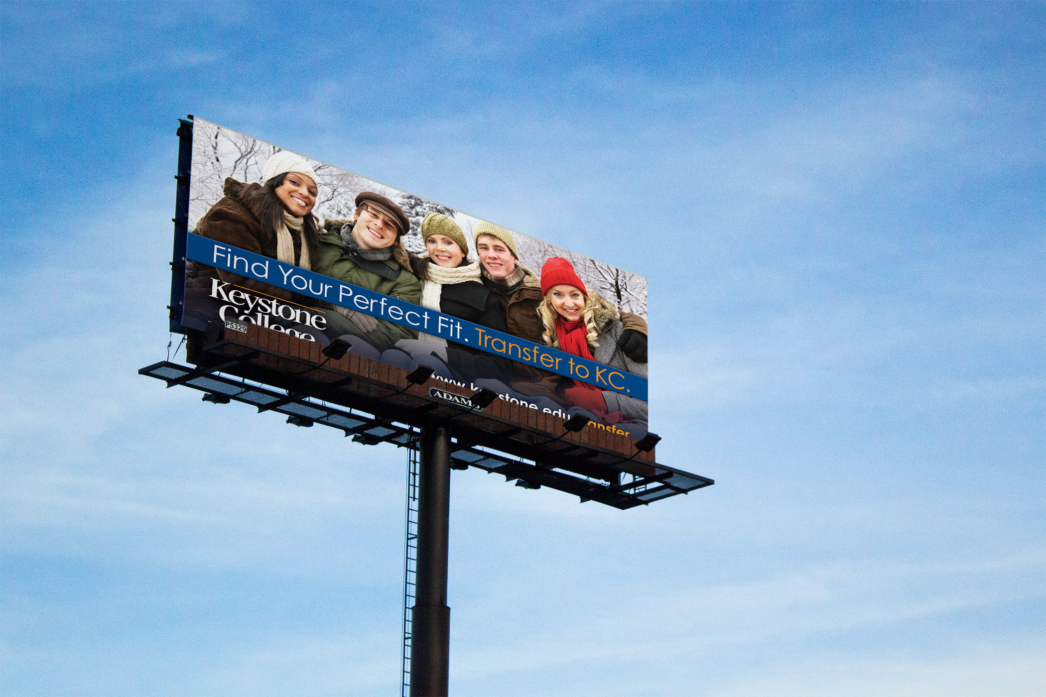 Transfer to Keystone – Outdoor Billboard