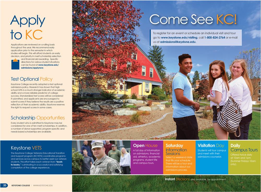Keystone College Viewbook