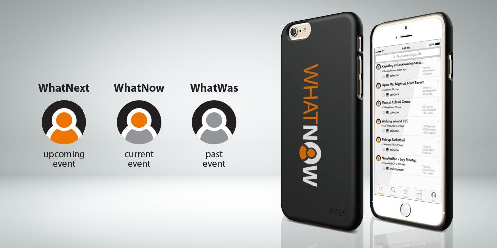 WhatNow – A mobile social app