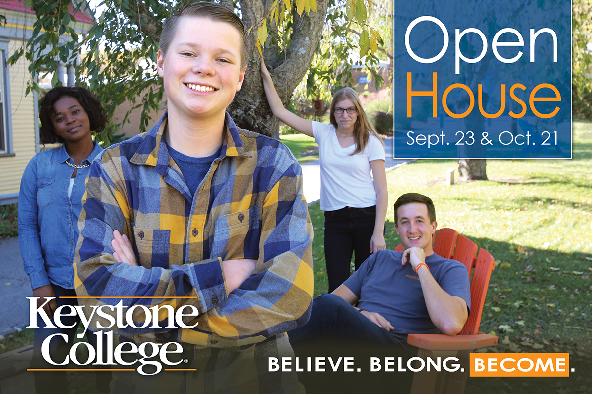 Keystone College Fall Open House
